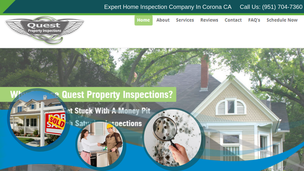 Home Inspection Website Launch | quest Property Inspections