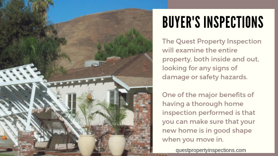 Buyer Inspection of Home Inspection in Riverside CA
