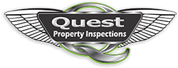 Quest Property Inspections Logo in Riverside CA