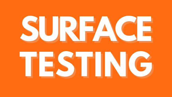 Surface Testing Home Inspection in Riverside CA